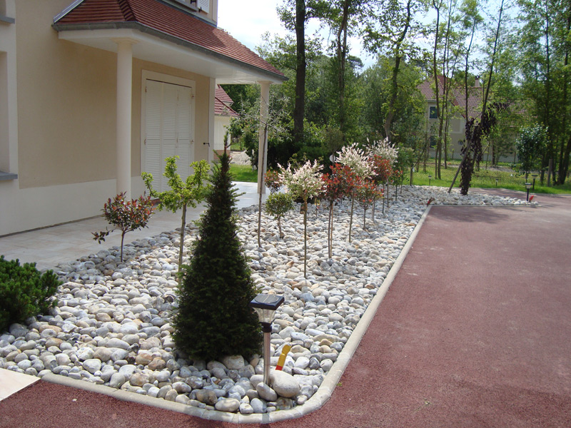 Jardin sec hartiz for Modele amenagement jardin